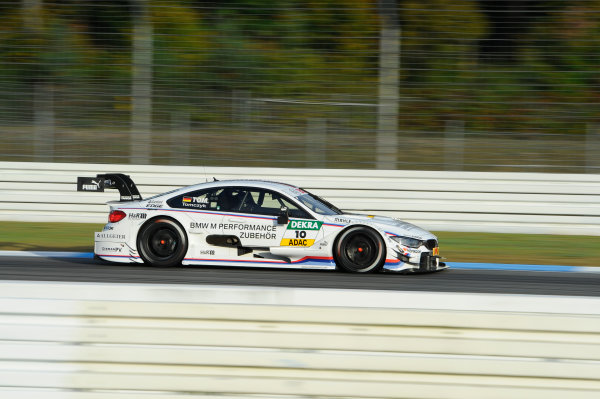 2014 DTM Championship Round 10 - Hockenheim, Germany 17th - 19th October 2014 Martin Tomczyk (GER) BMW Team Schnitzer, BMW M4 DTM World Copyright: XPB Images / LAT Photographic  ref: Digital Image 3353529_HiRes