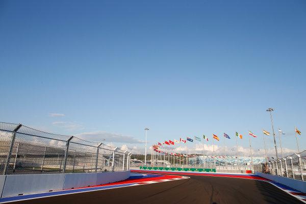Sochi Autodrom, Sochi, Russia. Thursday 9 October 2014. A view of the new circuit. World Copyright: Glenn Dunbar/LAT Photographic. ref: Digital Image _89P0030