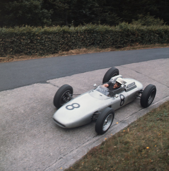 Nurburgring, Germany.3-5 August 1962.Jo Bonnier (Porsche 804) 7th position.Ref-3/0613.World Copyright - LAT Photographic