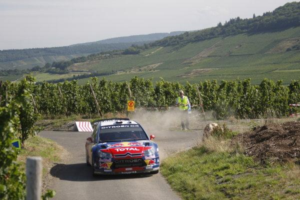 Round 10Rally Deutschland 200814th-17th August 2008Sebastien Loeb, Citroen, actionWorldwide Copyright: McKlein/LAT