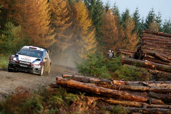 2013 FIA World Rally Championship Round 13-Wales Rally GB 14-17 November 2013 Evgeny Novikov, Ford WRC, Action.  Worldwide Copyright: McKlein/LAT