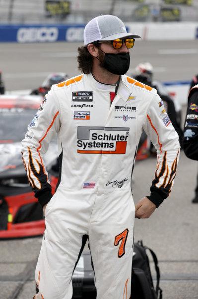 #7: Corey LaJoie, Spire Motorsports, Chevrolet Camaro Schluter Systems