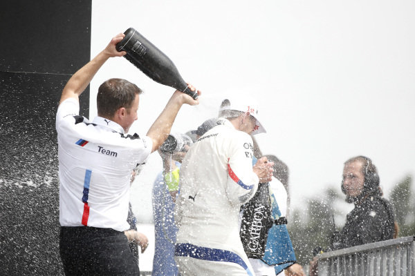 Podium: Race winner Marco Wittmann, BMW Team RMG.