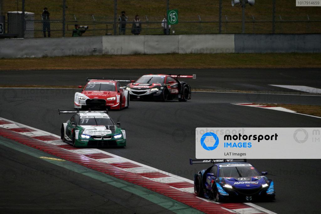 Naoki Yamamoto, Team Kunimitsu Honda NSX-GT, Marco Wittmann, BMW Team RBM BMW M4 DTM.