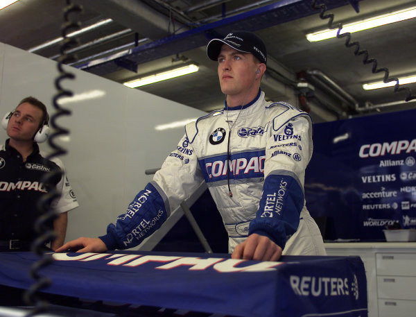 2001 Austrian Grand Prix.A1-Ring, Zeltweg, Austria.11-13 May 2001.Ralf Schumacher (Williams BMW).World Copyright - Steve Etherington/LAT PhotographicRef:15mb Digital Image