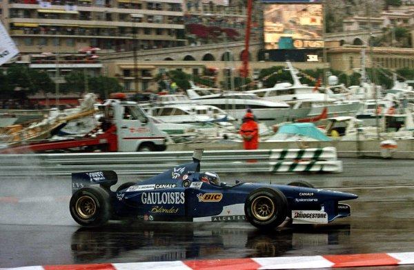 1997 Monaco Grand Prix.Monte Carlo, Monaco.8-11 May 1997.Olivier Panis (Ligier JS41 Mugen Honda) 4th position.World Copyright - LAT Photographic