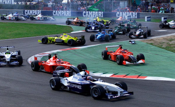 2001 Italian Grand Prix - Race
