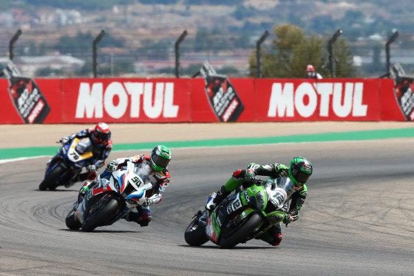 Xavi Fores, Kawasaki Puccetti Racing, Eugene Laverty, BMW Motorrad WorldSBK Team.