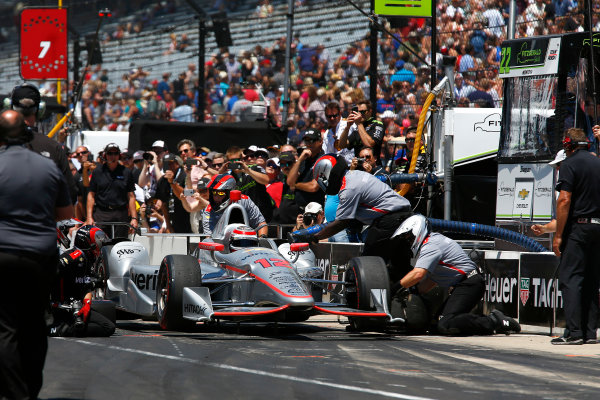 Verizon IndyCar Series Indianapolis 500 Carb Day Indianapolis Motor Speedway, Indianapolis, IN USA Friday 26 May 2017  World Copyright: Phillip Abbott LAT Images ref: Digital Image abbott_indy_0517_26648