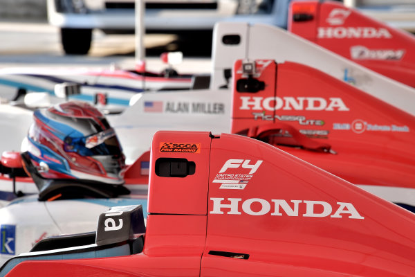 2017 F4 US Championship Rounds 1-2-3 Homestead-Miami Speedway, Homestead, FL USA Friday 7 April 2017 Honda supplies engine to F4 US Championship Series World Copyright: Dan R. Boyd/LAT Images