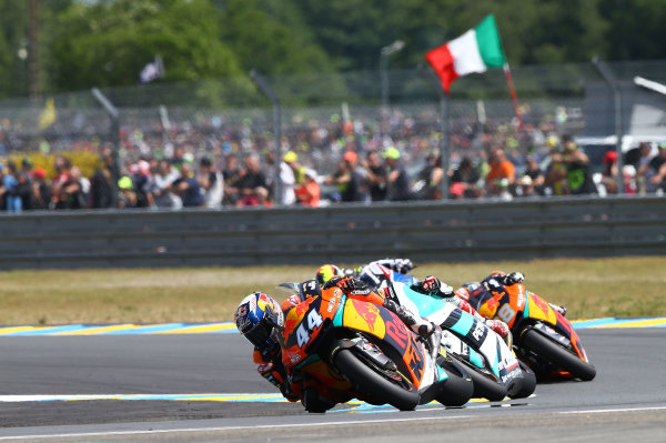 2017 Moto2 Championship - Round 5 Le Mans, France Sunday 21 May 2017 Miguel Oliveira, Red Bull KTM Ajo World Copyright: Gold & Goose Photography/LAT Images ref: Digital Image 671774