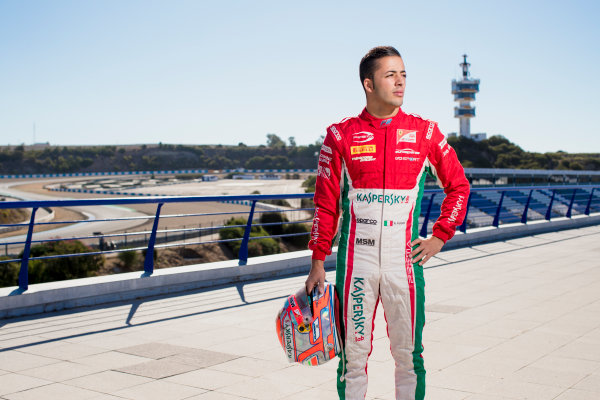 2017 FIA Formula 2 Round 10. Circuito de Jerez, Jerez, Spain. Thursday 5 October 2017. Antonio Fuoco (ITA, PREMA Racing).  Photo: Zak Mauger/FIA Formula 2. ref: Digital Image _56I3844