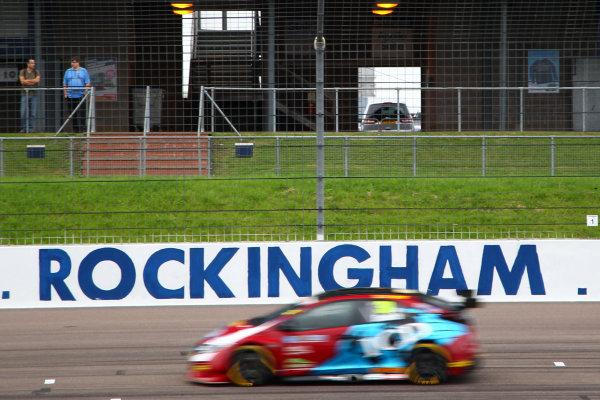 2017 British Touring Car Championship, Rockingham, England. 26th-27th August 2017, Brett Smith (GBR) Eurotech Racing Honda Civic Type R World Copyright. JEP/LAT Images
