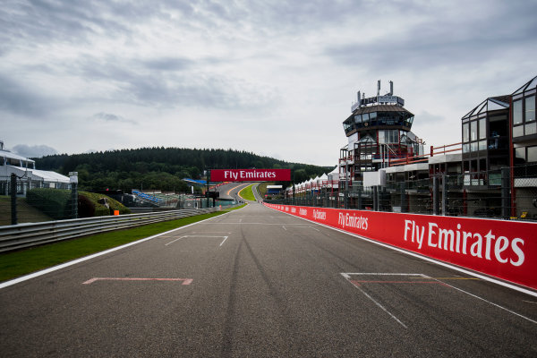 2017 GP3 Series Round 5.  Spa-Francorchamps, Spa, Belgium. Thursday 24 August 2017. A view of the track. Photo: Zak Mauger/GP3 Series Media Service. ref: Digital Image _54I9475