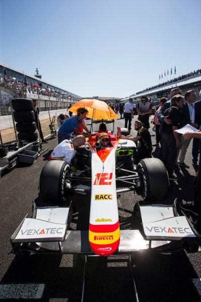 2017 FIA Formula 2 Round 10. Circuito de Jerez, Jerez, Spain. Sunday 8 October 2017. Alex Palou (JPN, Campos Racing).  Photo: Andrew Ferraro/FIA Formula 2. ref: Digital Image _FER3192