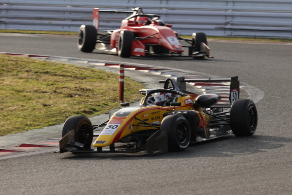 Rd 1 winner Teppei Natori, Byoubugaura B-MAX Racing 320
