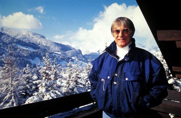 FOCA President Bernie Ecclestone (GBR) relaxes on holiday.Bernie Ecclestone Feature, Switzerland.BEST IMAGE.