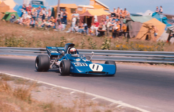 1971 Canadian Grand Prix.Mosport Park, Ontario, Canada.17-19 November 1971.Jackie Stewart (Tyrrell 003 Ford) 1st position.Ref-71 CAN 10.World Copyright - LAT Photographic
