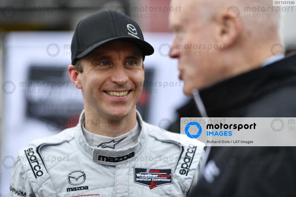 #77 Mazda Team Joest Mazda DPi, DPi:  Timo Bernhard