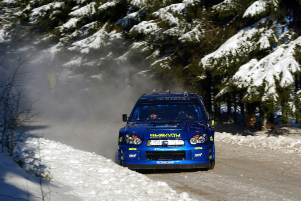 2003 FIA World Rally Championship. 