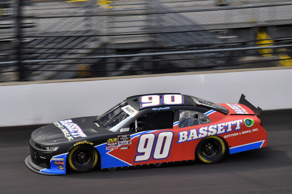 #90: Ronnie Bassett Jr., DGM Racing, Chevrolet Camaro Bassett Gutters & More