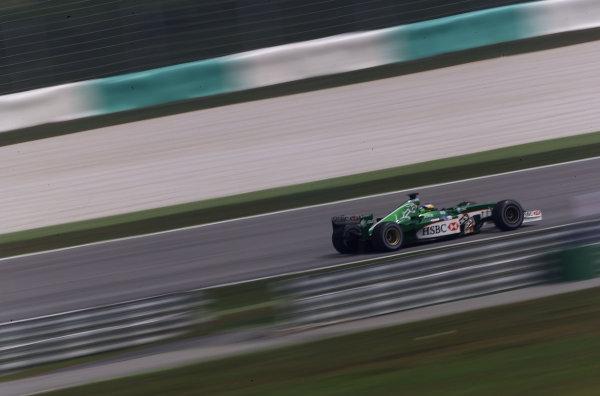 2002 Malaysian Grand Prix - RaceSepang, Malaysia. 17th March 2002 World Copyright: Etherington/LAT Photographicref: Digital Image Only