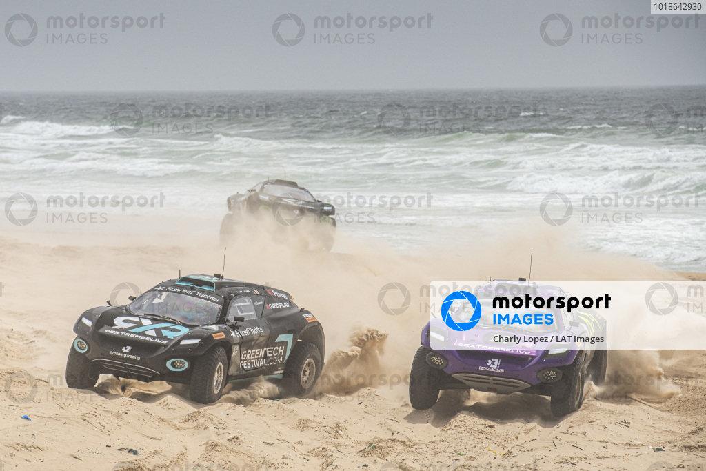 Molly Taylor (AUS)/Johan Kristoffersson (SWE), Rosberg X Racing, races with Cristina Gutierrez (ESP)/Sebastien Loeb (FRA), X44