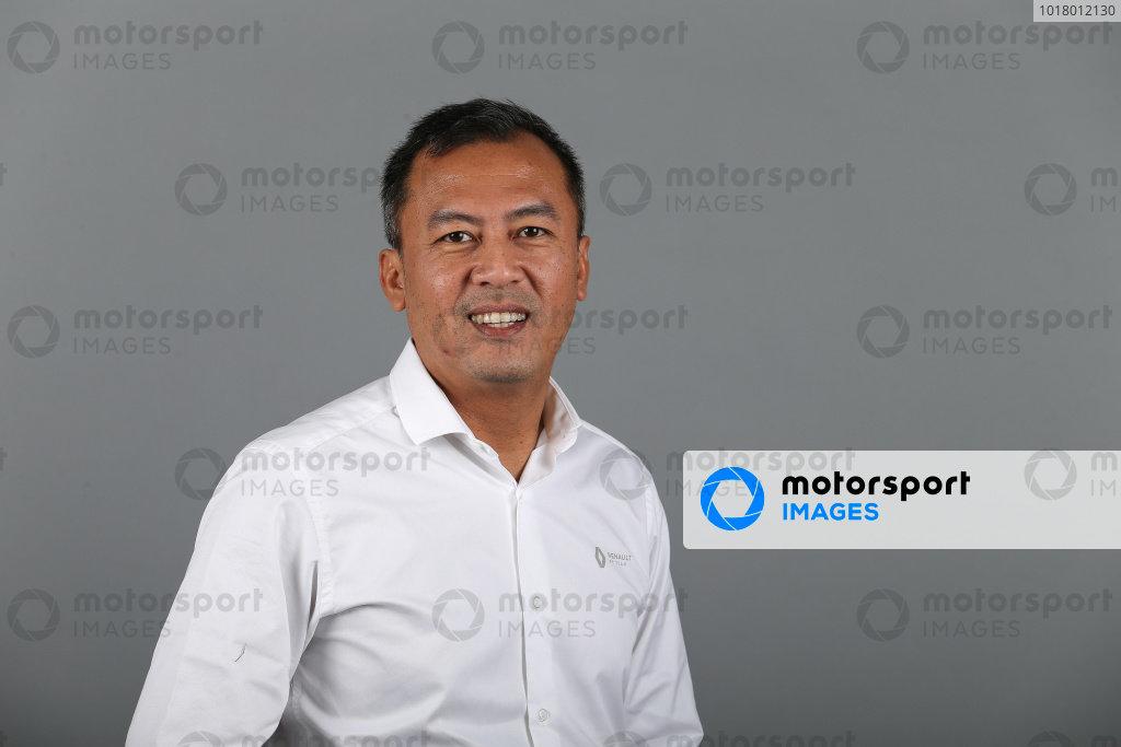 Mia Sharizman (MAL) Renault Sport Academy Director. Copyright: James Moy/XPB/Renault F1