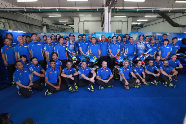 Joan Mir, Team Suzuki MotoGP, Alex Rins, Team Suzuki MotoGP, Suzuki team launch.