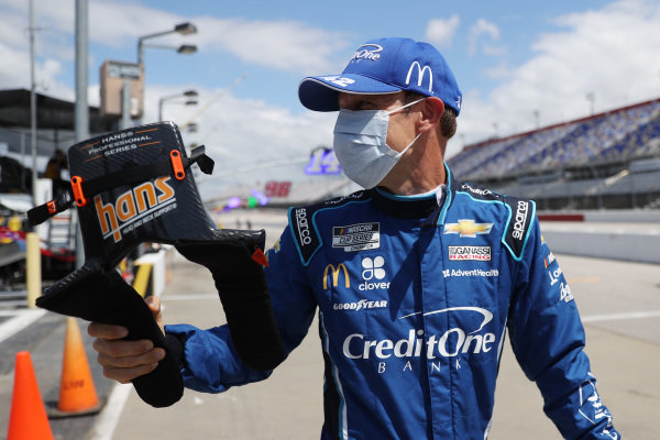 Matt Kenseth, Chip Ganassi Racing Chevrolet Credit One Bank Copyright: Chris Graythen/Getty Images.