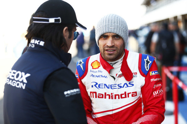 Jay Penske, Dragon Racing, with Jérôme d'Ambrosio (BEL), Mahindra Racing