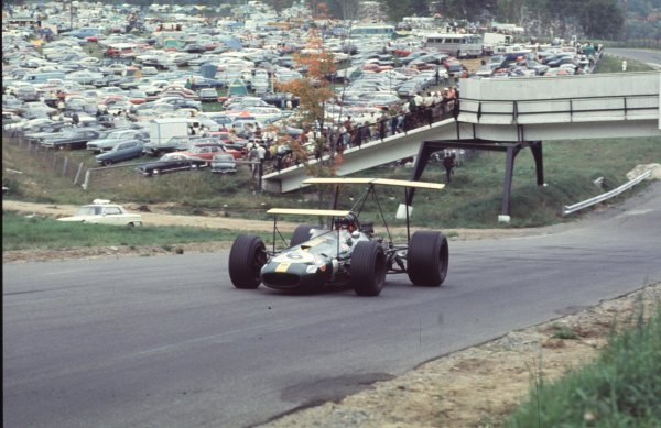 1968 Canadian Grand Prix.Mont-Tremblant, (St. Jovite), Quebec, Canada.20-22 September 1968.Jochen Rindt (Brabham BT26 Repco).Ref-68 CAN 39.World Copyright - LAT Photographic