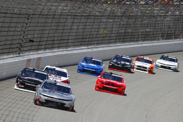 #9: Noah Gragson, JR Motorsports, Chevrolet Camaro Switch and #1: Michael Annett, JR Motorsports, Chevrolet Camaro Chevrolet AllState Parts and Service Group