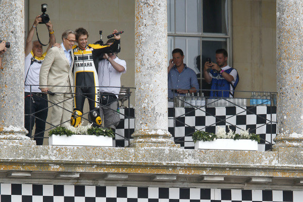 Valentino Rossi (ITA) with Lord March (GBR) at Goodwood Festival of Speed, Goodwood, England, 25-28 June 2015.