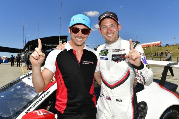 #911 Porsche Team North America Porsche 911 RSR, GTLM: Patrick Pilet, Nick Tandy Pole Award