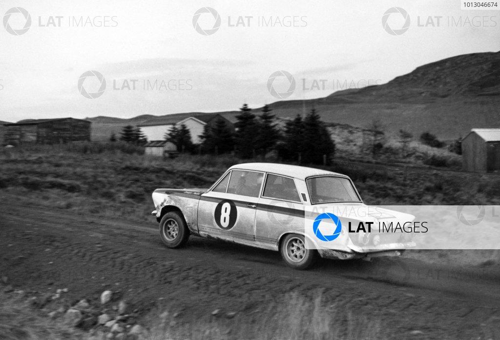1966 RAC Rally.