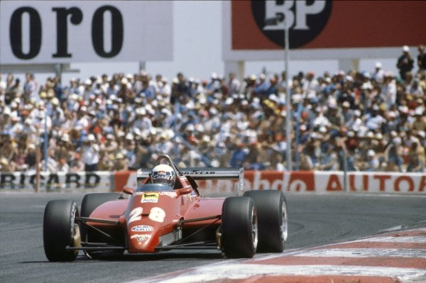 1982 French Grand Prix.Paul Ricard, Le Castellet, France.23-25 July 1982.Didier Pironi (Ferrari 126C2) 3rd position, action.Ref-82 FRA World Copyright - LAT Photographic