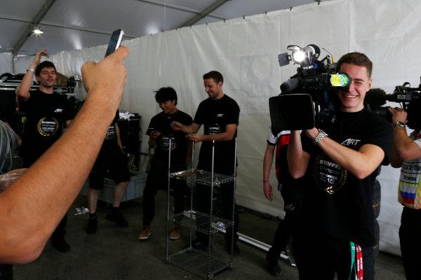 2015 GP2 Series Round 9. Sochi Autodrom, Sochi, Russia. Sunday 11 October 2015. Stoffel Vandoorne (BEL, ART Grand Prix)  World Copyright: Zak Mauger/LAT Photographic ref: Digital Image _L0U9291