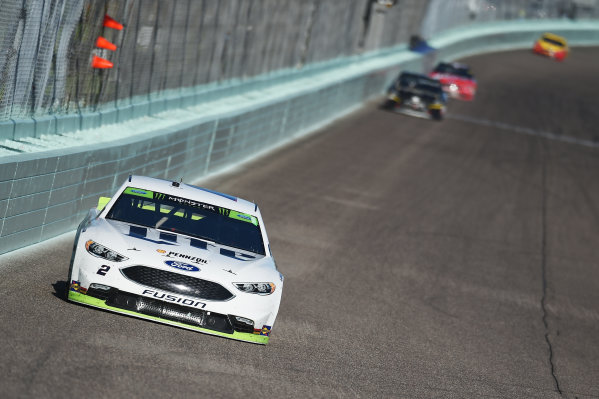 Monster Energy NASCAR Cup Series Homestead-Miami Speedway, Homestead, Florida USA Sunday 19 November 2017 Brad Keselowski, Team Penske, Miller Lite Ford Fusion World Copyright: Rainier Ehrhardt / LAT Images ref: Digital Image DSC_1725