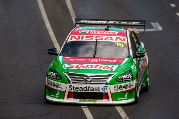 2018 Supercars Championship Adelaide 500, Adelaide, South Australia, Australia Friday 2 March 2018  #15 Rick Kelly (Aust) Nissan Motorsport  World Copyright: Dirk Klynsmith / LAT Images ref: Digital Image 2018VASC01-03354
