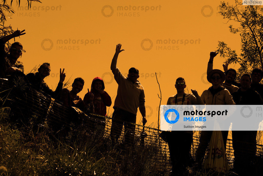 Fans. FIA World Rally Championship, Rd4, Rally de Portugal, Preparations and Shakedown, Algarve Portugal, 2 April 2014.