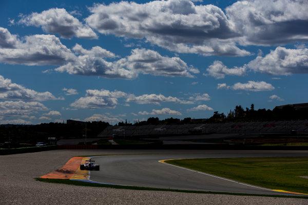 2016 GP3 Series Testing. Circuit Ricardo Tormo, Valencia, Spain. Friday 8 April 2016. Antonio Fuoco (ITA, Trident). World Copyright: Zak Mauger/LAT Photographic. ref: Digital Image _L0U3568