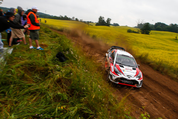 2017 FIA World Rally Championship, Round 08, Rally Poland / June 29 - July 2 2017, Jari-Matti Latvala, Toyota, action, Worldwide Copyright: McKlein/LAT
