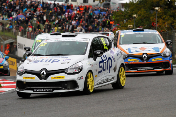 2014 Renault Clio Cup,  Brands Hatch, Kent. 10th - 12th October 2014. Jordan Stilp (GBR) 20Ten Racing Renault Clio Cup. World Copyright: Ebrey / LAT Photographic.