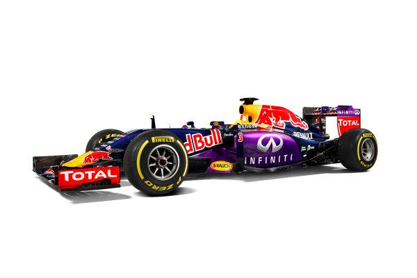 Infiniti Red Bull Racing RB11 Studio Images. Milton Keynes, UK. Sunday 1 March 2015. The Red Bull Racing RB11. Photo: Red Bull Racing (Copyright Free FOR EDITORIAL USE ONLY) ref: Digital Image RB11_LIVERY_15