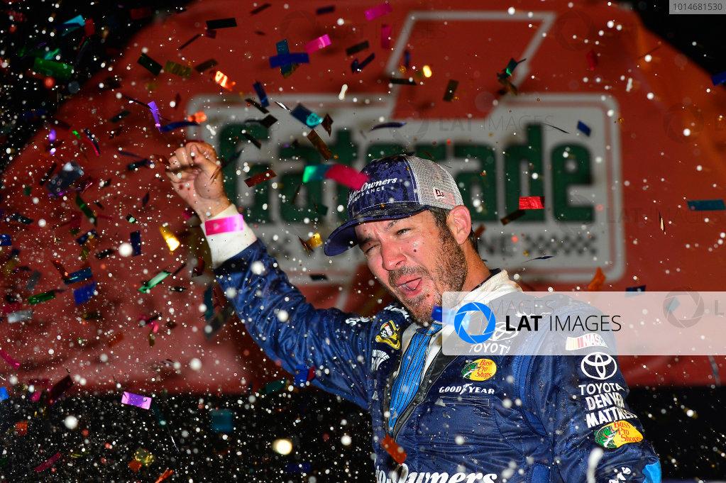 3-4 September, 2016, Darlington, South Carolina USA Martin Truex Jr celebrates his victory ?2015, John Harrelson / LAT Photo USA