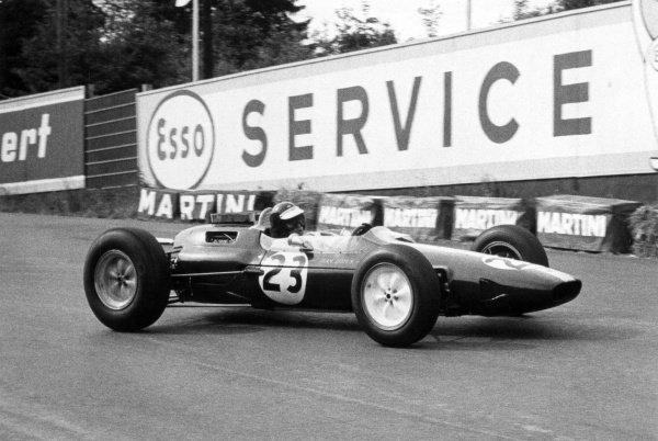 1964 Belgian Grand Prix.Spa-Francorchamps, Belgium. 14 June 1964.Jim Clark, Lotus 25-Climax, 1st position, action.World Copyright: LAT Photographic