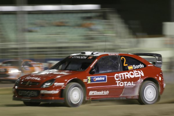 2006 FIA World Rally Champs. Round 6Rally Australia 26-29th October 2006Dani Pons Citroen actionWorld Copyright: McKlein/LAT