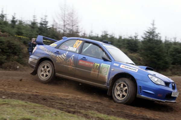 2006 British Rally Championship.Wales Rally GB. 1st-3rd December 2006.Rob Swann. World Copyright: Ebrey/LAT Photographic.
