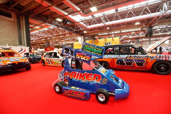 Autosport International Show NEC, Birmingham.  Sunday 12 January 2014. Festival hall. World Copyright:Alastair Staley/LAT Photographic ref: Digital Image _R6T5535